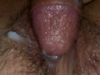 My wife takes it deep in her throat and her juicy pussy