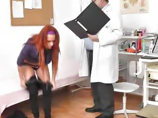 Redhead Terry Sullivan gyno rectal douche
