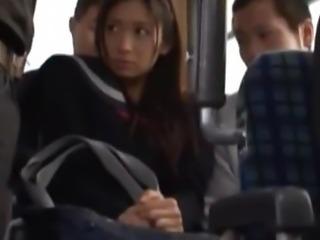 Public Bus Sex With Nana