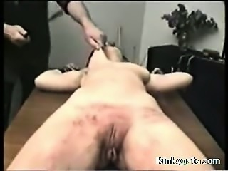 severe whipping for my sub wife Angela
