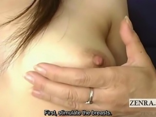 Subtitled mature Japanese bizarre sex ed instruction