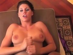 Busty hottie Kylie Rachelle is a pro when it comes to wanking dicks. She...