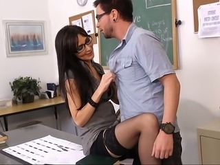 My female teacher wants to have sex with me