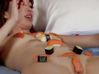 Girls Out West - Amateur Asian squirter inseminated