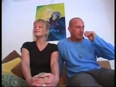 Mature likes to suck , and watch anal sex