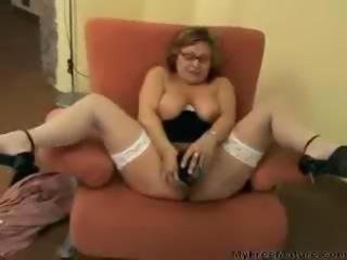 Big Tit Granny Goes Wild mature mature porn granny old cumshots cumshot