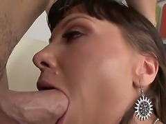 Tempting sheep anal whore Alysa with long sexy nails gets naked and has big...