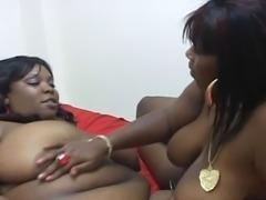 Nice Lesbian Bblack BBW