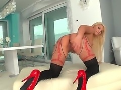 White girls didnt come with an ass like this until Lana showed up. Shes sporting sexy stockings while spreading her pussy with a speculum that will help accommodate her fists.