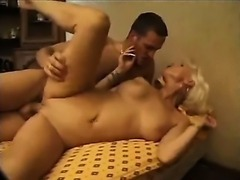 French Mature Fucks Younger Man by TROC