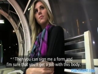 PublicAgent HD She's tall she's thin she sucks and fucks for money free