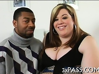 Man bangs sexy fat hottie