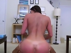 Luxurious woman with nice juggs and butt gonna stand doggy style and get banged as hard as never before. Dude pushes his cock into her cunt and drills the bitch wild.