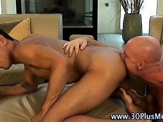 Nasty latin stud gets ass rimmed