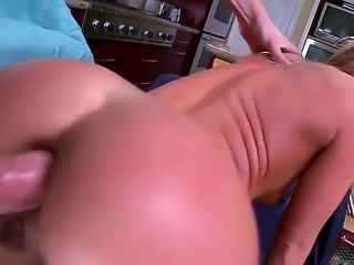 Gorgeous beauty Sheena Shaw loves to be banged in asshole very much! Today she is going to have wild anal screw with her new boyfriend in a lot of different positions.