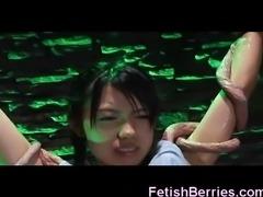 Alien Tentacles Fuck Asian Teens!