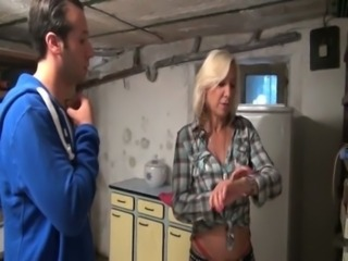 Horny french milf enjoys a really hard assfuck free