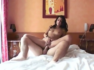 Lou Charmelle is having great time with Manuel Ferrara. She is getting fat rod of the pretty pal so deep into all of her holes getting a lot of pleasure from it.
