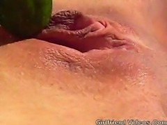 Cucumber Fuck & Squirting