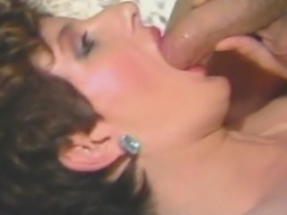 Porn legend Sharon Mitchell takes turns fucking famous studs in the 1985 movie Lust Bug. This time it's Tom Byron who puts his cock in Sharon's juicy pussy.