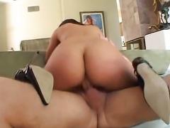 Hot Asian takes long fuck rod