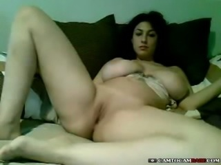Tall Arab girl with little pussy fucking big toy on cam - camtocambabe.com free