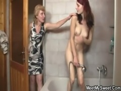 Parents enjoy great time with their son's GF free