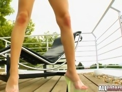 Outrageous gape gets their cocks slammed in