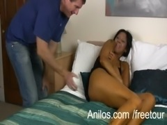 Mature housewife rewarded with a hard fuck free