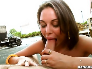 Nella Jay with phat ass gets the pleasure from pussy slamming with horny dude like never before