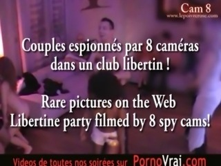 Camera espion en soiree privee ! French spycam Part151