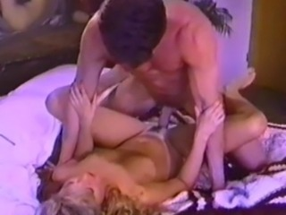 P.J. Sparxx and Peter North have awesome sex on a mattress on the floor with Peter pounding the retro babe's pussy in several positions.