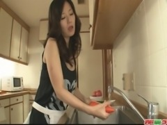 Hot milf Manami Komukai best blowjob ever free