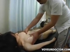 Teen climax with a Breast Massage