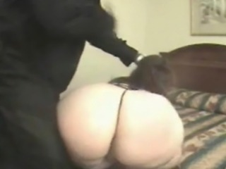 BBW spanked and fucked by BBC