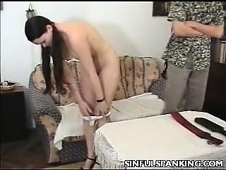 Ass Paddled Teen