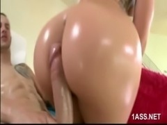 Mischa Brooks takes hard anal pounding free