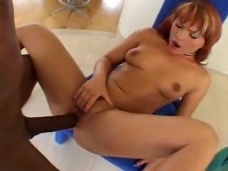 Redhead v Huge Schlong