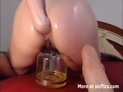 EXTREME ANAL FISTING AND PISSING WHORE free