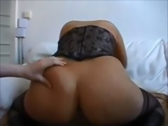 Amateur blonde ass creampied free