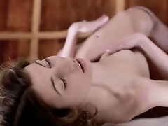 Examine the nice-looking scene with beautiful anorexic girl. She is going to...