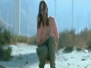 Yekaterina Golubeva explicit (show pussy, explicit sex, doggystyle sex) scenes from horror Twentynine Palms (2003)