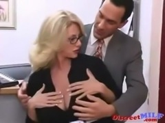 MILF Fucked Hard in the Office free