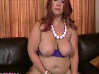 Short N Stacked Plumper Sophia Jordan's Hardcore Debut