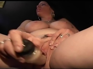 Chubby milf finds ideal dildo for her pussy, in addition she gets real cock.