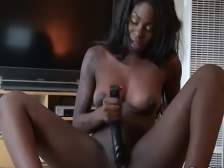 Tatiyana fox is pink in the inside and she is about to show with the help of...