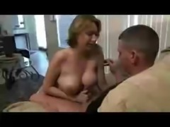 Hot mom caught son spying on her free
