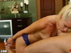 Throated Anikka Albrite gets facefucked and throatfucked