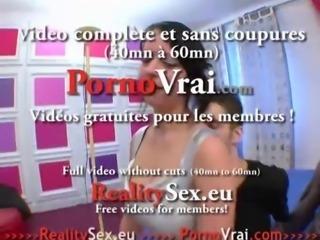 Creampie Il lui ejacule dans la chatte ! French amateur