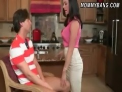 Sexy mom Kendra Lust 3some with Katie St Ives and boyfriend free